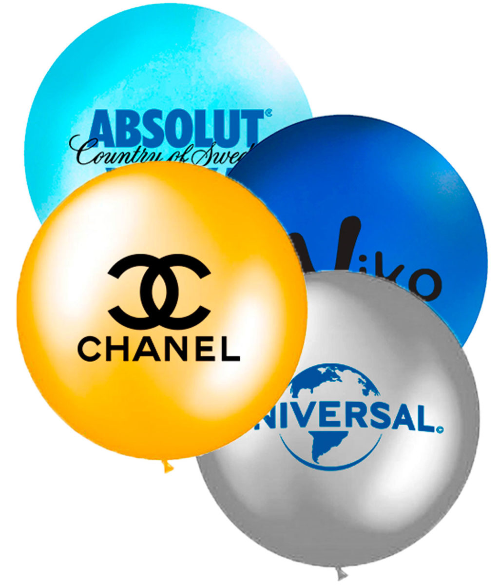 globos de helio gigantes