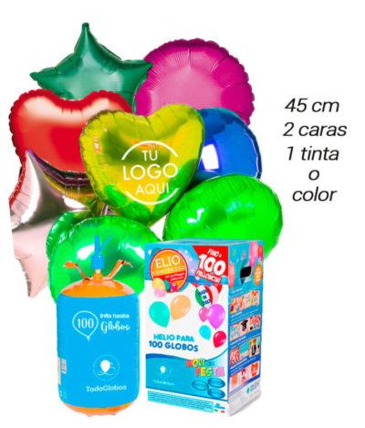Pack Poliamida 100 Globos Personalizados